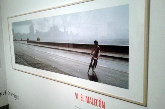Una de las imágenes de la exposición La Habana del Flaco en el Muvim. Valencia